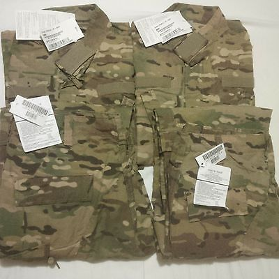 Lot of 2 - NEW US Army FRAC (OCP) Multicam Medium Regular Sets with TAGS