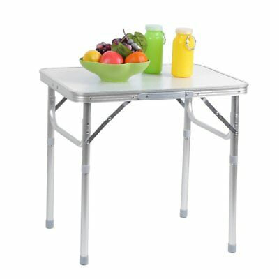 Portable Folding Aluminum Table Outdoor Picnic Party Dining Camping Desk Top US