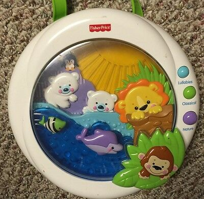 Fisher Price Precious Planet Melodies & Motion Crib Soother W/Lights &  Music