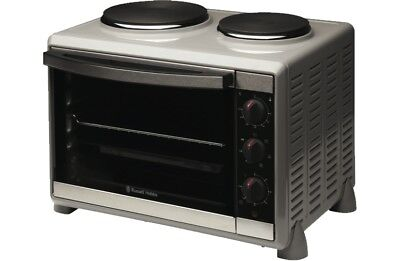 Russell Hobbs RHTOV2HP Multifunction Electric Compact Cooker Oven Hotplates