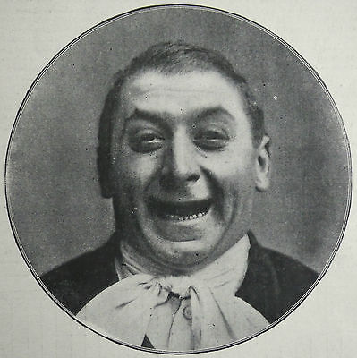 Lavater Lee Circus Clown 1901 2 Page Photo Article 7903