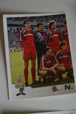 PANINI VIGNETTE STICKERS FOOTBALL FOOT 92 N°167 NANCY ERIC RABESANDRATANA