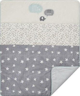Next Cot Coverlet Natural Boutique Babies little Star Nursery Bedding Bed