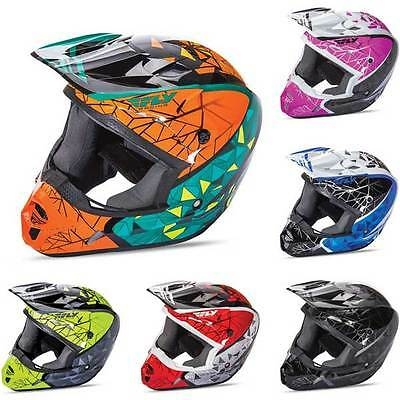 Fly Racing Kinetic Crux Motocross MX Off Road Moto Dirt Helmet All Colours