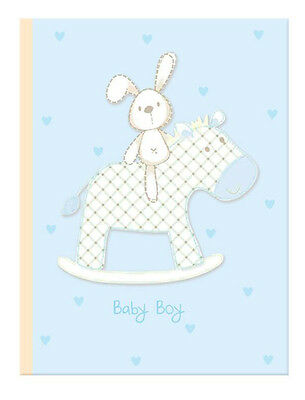 Baby Boy New Photo Album (6'' x 4'') Holds 80 Photos Gift Picture Photo Book