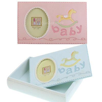 Boy Girl Kids Photo Frame Baby Save Hobbyhorse Milk Teeth Storage Box Organizer