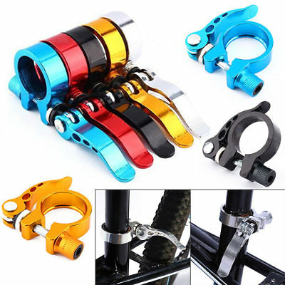 31.8mm Road Bike MTB bicycle Seat Post Seatpost Clamp Quick Release Clamps Tool