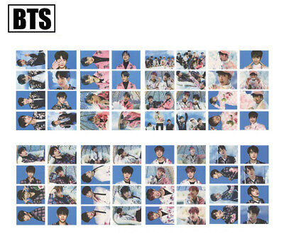 BTS BANGTAN BOYS Wings Tour Seoul Concert Cards JIN SUGA Self Made Photocard