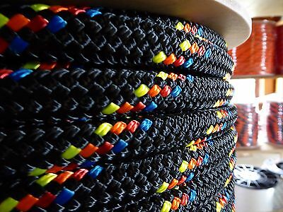"5/16"" x 145 ft. Double Braid~Yacht Braid Polyester rope.Made in the USA."