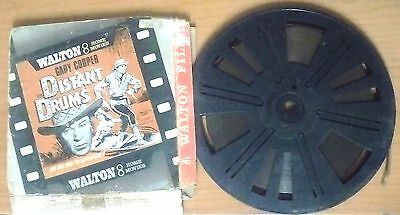 Distant Drums, with Gary Cooper - Super 8 Black & White Sound Film