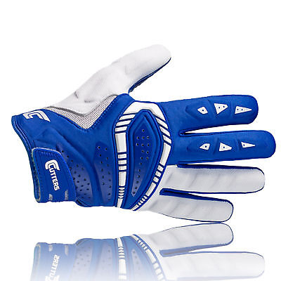Cutters S650 The Gamer  Multi Position Handschuhe, royal