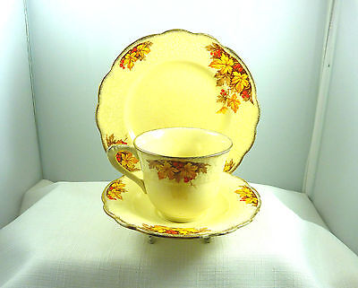 Vintage J&G Meakin, Sunshine 561073 England China Trio Set