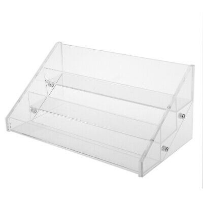 3-4 Tiers Acrylic Nail Polish Table Display Rack- Hold up to 15 24 30 44 Bottles