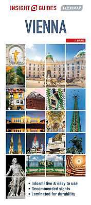 Insight Flexi Map Vienna (Insight Flexi Maps), Guides, Insight, New Book