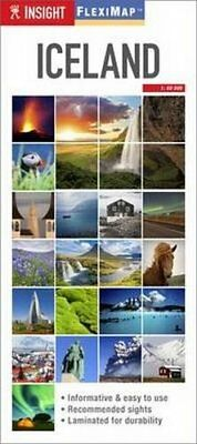 Insight Flexi Map: Iceland (Insight Flexi Maps), Guides, Insight, New Book