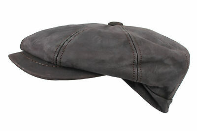 HORKA Leather Cap - Nappa Leather - Brown