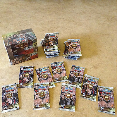 TOPPS WW SLAM ATTAX 10th EDITION WRESTLING TRADING CARDS BRAND NEW SEALED PACKS