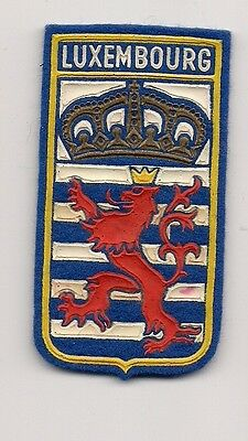 Country Of Luxembourg Souvenir Travel Patch -