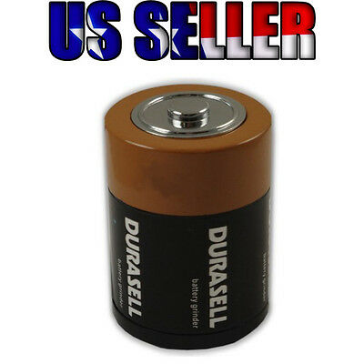 1.75 inch D Battery 3 Parts Herbal Herb Tobacco Spice Ginder US Seller FreeShip