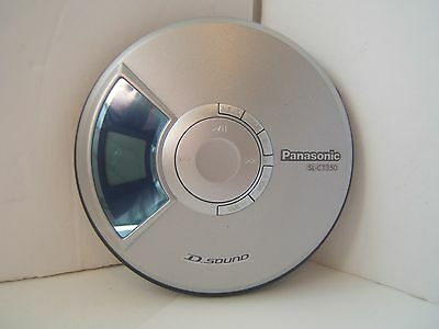 Panasonic SL-CT250 Silver Portable CD Player D Sound Tested Works