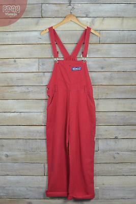 Vintage Firetruck Red Straight Dungarees (S/M)