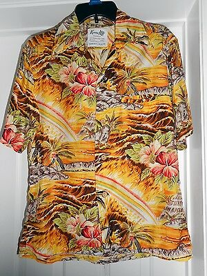 VINTAGE KEONE Sportwear for Men of Action LIBERTY HOUSE Hawaiian Shirt