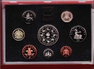 1993 Deluxe Red Proof Set Of 8 Coins