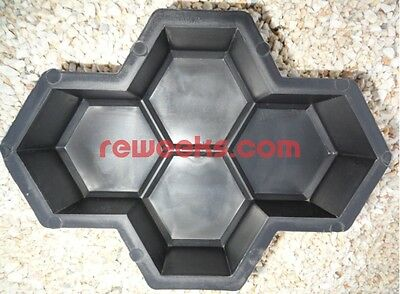 Paving Stone Mold. Paver Cement Forms. Plastic Concrete Paver Molds