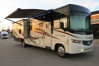 """2016 Forest River Georgetown 364TS, two bathrooms, 22.5"""" rubber, stainless appl."""