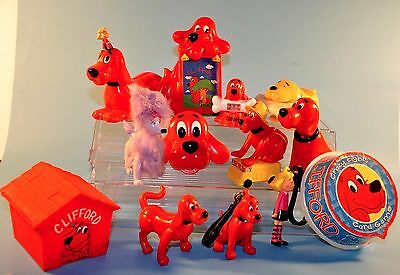 Big Lot CLIFFORD THE BIG RED DOG Toys Figures
