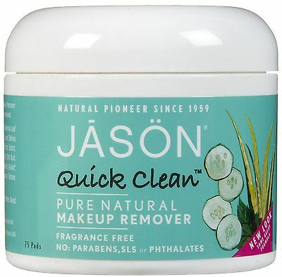Jason Quick Clean Makeup Remover Pure Natural Fragrance Free
