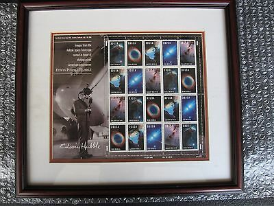 Hubble Telescope Usps Stamps Framed Matted
