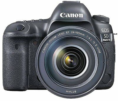 Canon EOS 5D Mark IV  DSLR Camera with EF 24-105mm f/4L IS II USM Lens, USA