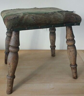 Antique Small stool. 1950's