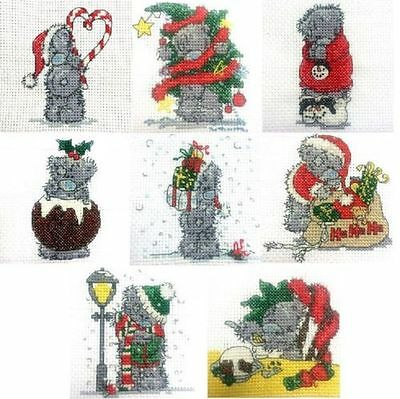 DMC Mini Cross Stitch Kit - Tatty Teddy - Christmas - 8 Designs to choose from