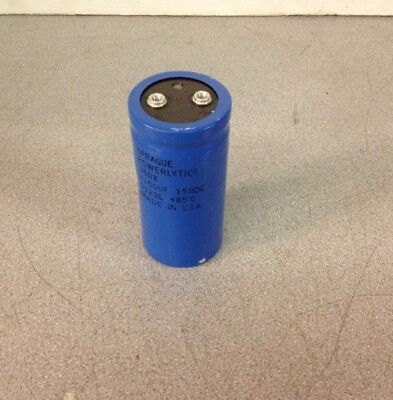One NOS Sprague Powerlytic 36DX Capacitor 650000μF 6.3vdc 36dx10017p 8404L