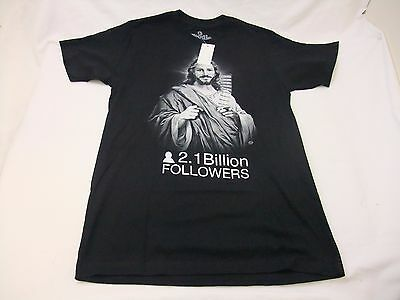 cca36fc7c Goodie Two Sleeves 2.1 Billion Followers Facebook Jesus T-Shirt Size  Medium--NWT