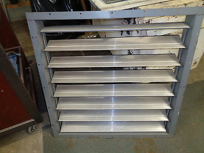 "32"" outdoor exaust fan louvers shutters"