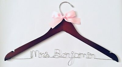 Wedding hangers personalized, bridesmaid gifts, wedding hangers, bridal hangers