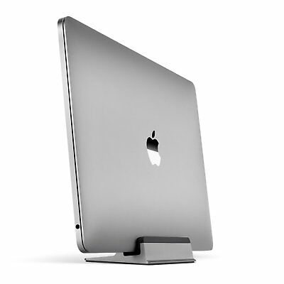 UPPERCASE KRADL Aluminum Vertical Stand MacBook Pro Space Gray 2016 2017 2018