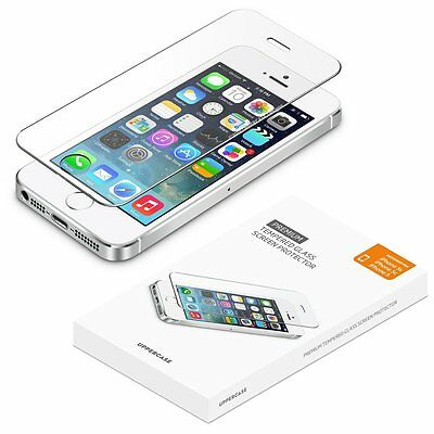 UPPERCASE Premium Tempered Glass Screen Protector Apple iPhone 5 5C 5S SE 2 Pack