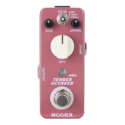NEW Mooer Tender Octaver MKII Precise Octave Micro Guitar Effects Pedal