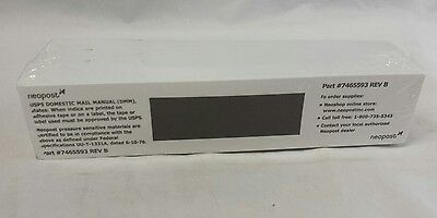 """Neopost Postage Tape: USPS Approved, 7"""" x 1-9/16"""", Mailing Meter Supplies,"""