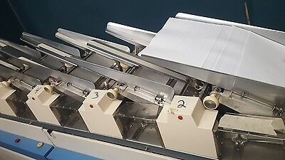 pitney Bowes 9 x 12 Inserting machine 7 station