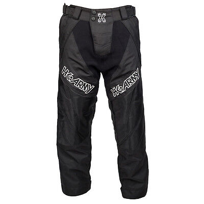 New HK Army Paintball HSTL Line Playing Pants - Black - X-Large XL (38-45)