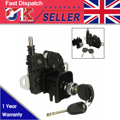 Bonnet Lock & Latch Complete Set 2 Keys For Ford Transit MK6 2000-2006 & Connect