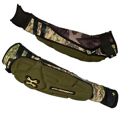 New HK Army Crash Arm Elbow / Forearm Protective Pads - Camo -  Large L