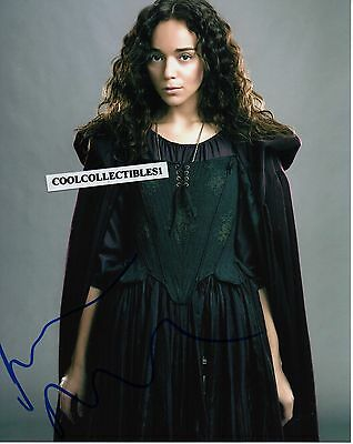 """Ashley Madekwe Of """"salem"""" In Person Signed 8X10 Color Photo 3"""