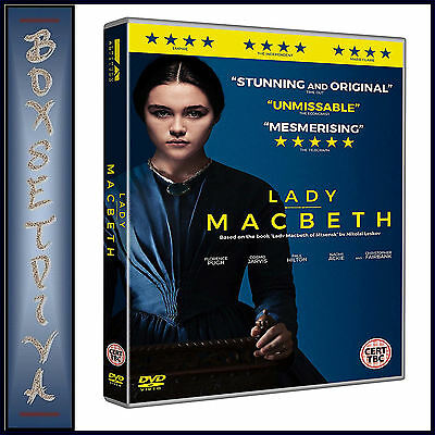 LADY MACBETH -  Florence Pugh & Cosmo Jarvis  *BRAND NEW DVD***
