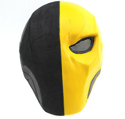 Durable Fiber Resin Single Mesh Eye Airsoft Paintball Full Protection Mask L891